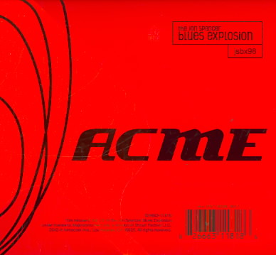 ACME & XTRA ACME BY SPENCER,JON BLUES E (CD)